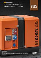 RID Katalog tragbare Stromerzeuger DE