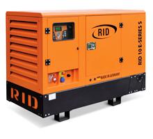 Дизельгенератор закрытого исполнения RID 10 E-Series S